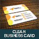 Clean Business Card V2 - GraphicRiver Item for Sale