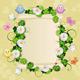 Flower Frame  - GraphicRiver Item for Sale