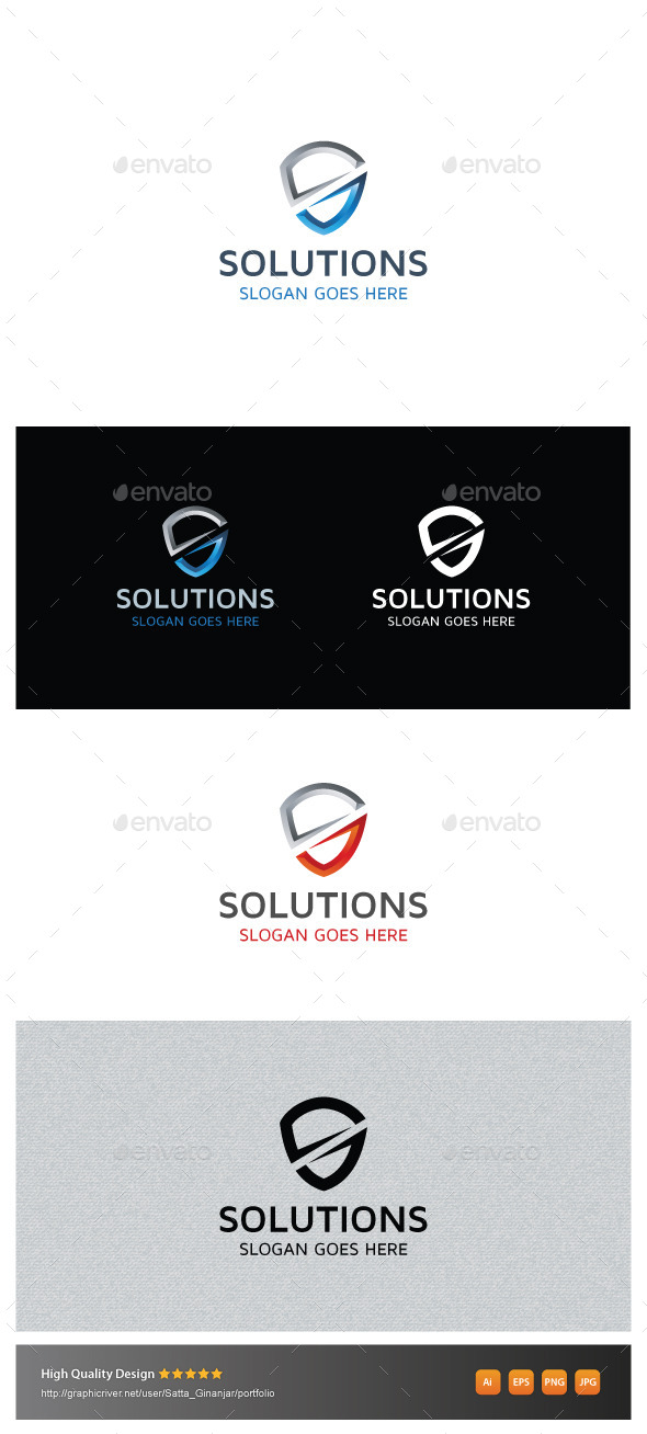 GraphicRiver Secure Solutions 10873696