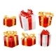 Gifts Set. Vector - GraphicRiver Item for Sale