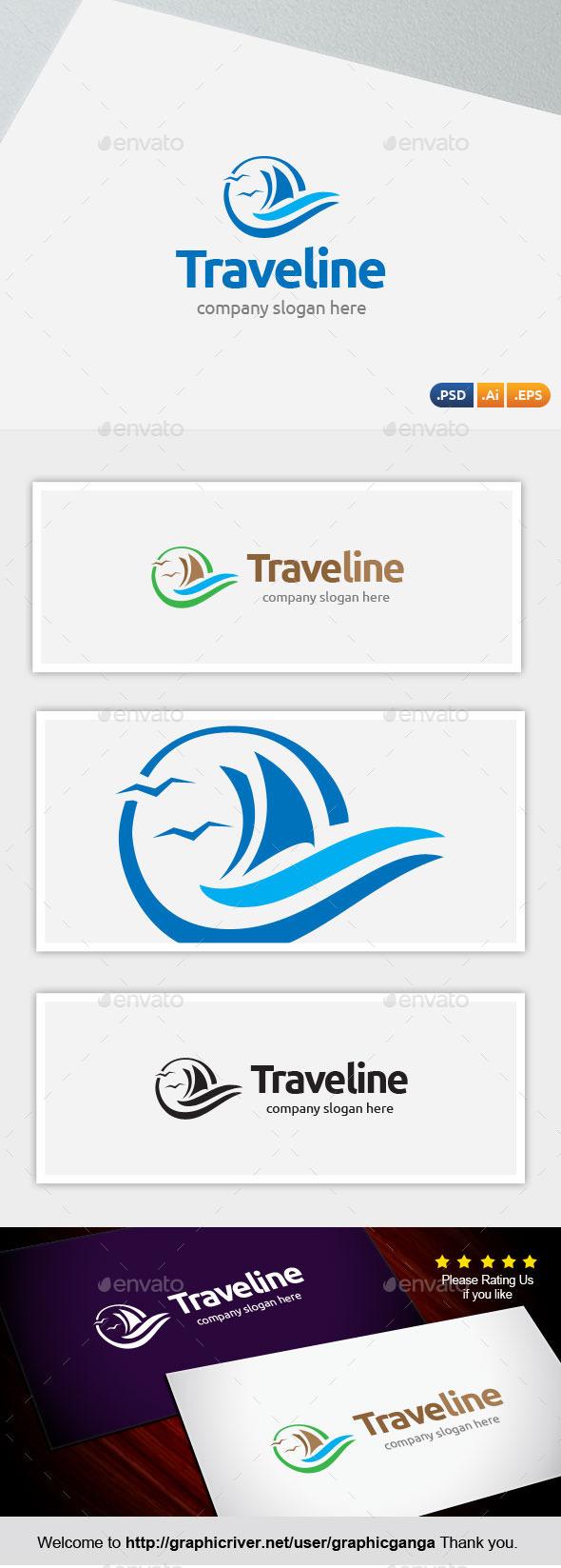 GraphicRiver Traveline 10874099