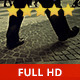 People Walking on a Square - VideoHive Item for Sale