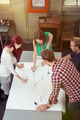 Group of Friends Making Concept Map at the Table - PhotoDune Item for Sale