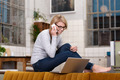 Young woman working from home - PhotoDune Item for Sale