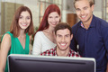 Happy successful young business team - PhotoDune Item for Sale