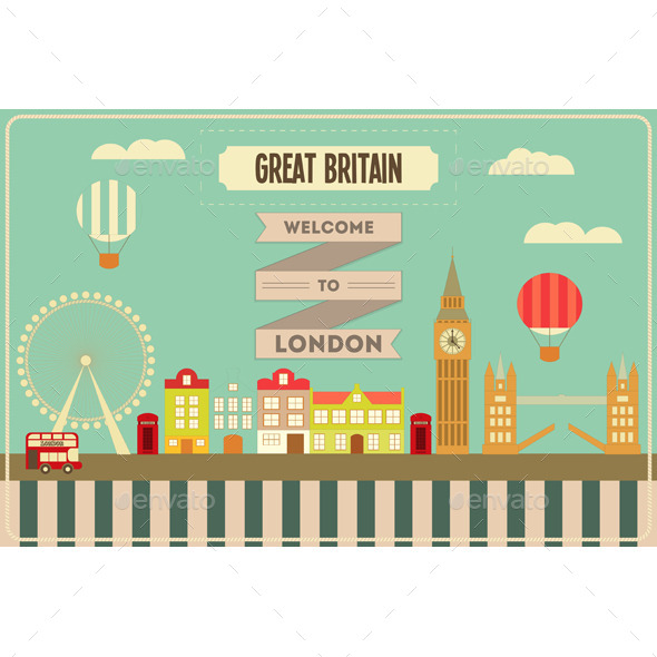 GraphicRiver London 10875717