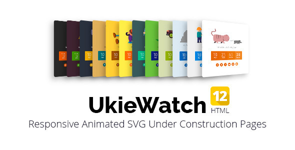 ThemeForest UkieWatch Responsive Animated Templates 10820584