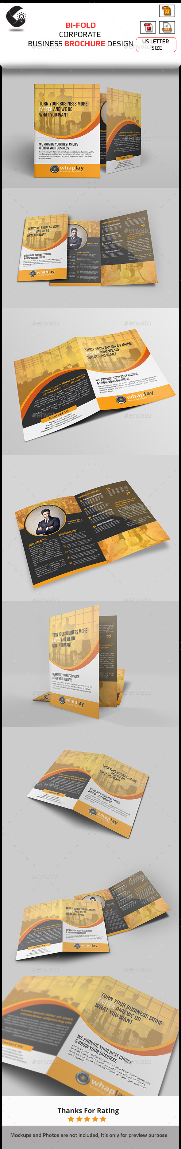 GraphicRiver Corporate Brochure Design 10875749