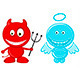 Angel and Devil - GraphicRiver Item for Sale