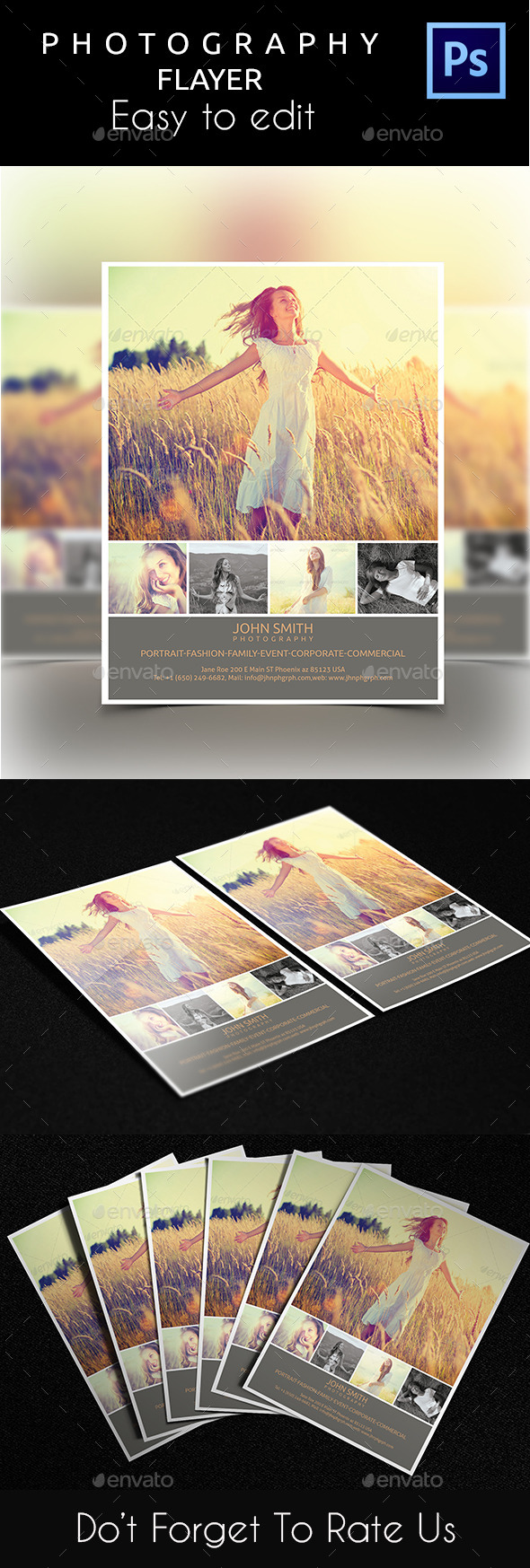 GraphicRiver Photography Flyer 10876076