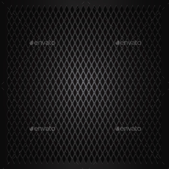 GraphicRiver Abstract Metal Grid Background 10876280