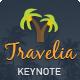 Travelia Keynote Presentation Template - GraphicRiver Item for Sale