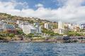 Seascape coastline Madeira Island with modern Hotels of Funchal - PhotoDune Item for Sale