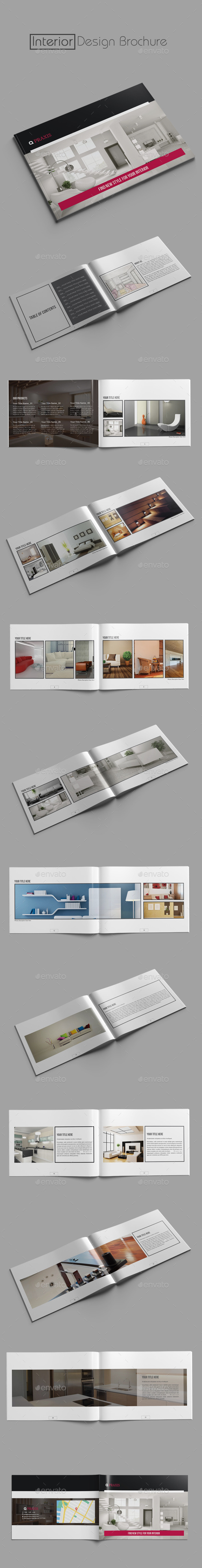 GraphicRiver Interior Design Brochure 10877172
