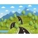 Spring Mountain Landscape  - GraphicRiver Item for Sale