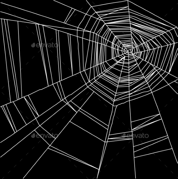 GraphicRiver Spider Web Background 10877537