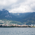 Beautiful view of Lecco on Como lake, Italy - PhotoDune Item for Sale
