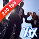 Businesspeople Jumping In Air - VideoHive Item for Sale