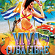 Viva ?uba Libre Party Flyer - GraphicRiver Item for Sale