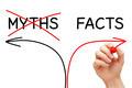 Myths Facts Arrows Concept - PhotoDune Item for Sale