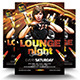 Lounge Night Party Flyer - GraphicRiver Item for Sale