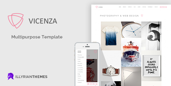 ThemeForest Vicenza Multipurpose Template 10827889
