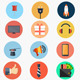 Flaticons Animated Flat Icon Library - VideoHive Item for Sale