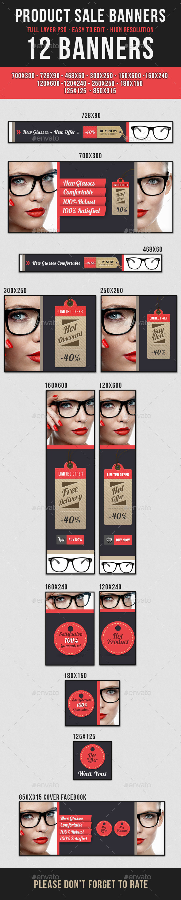 GraphicRiver Glasses Product Sale 10879858