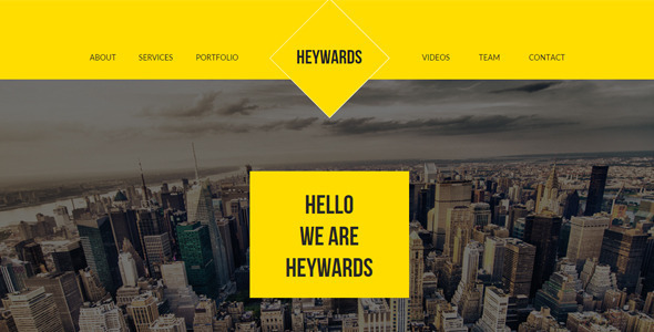 ThemeForest Heywards Multi-purpose Muse Template 10880034