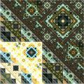 Abstract Symmetrical fractal square colorful Pattern - PhotoDune Item for Sale