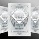 White Party Invitation  - GraphicRiver Item for Sale