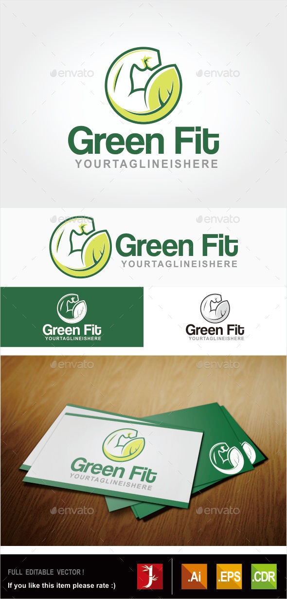 GraphicRiver Green Fit 10880085