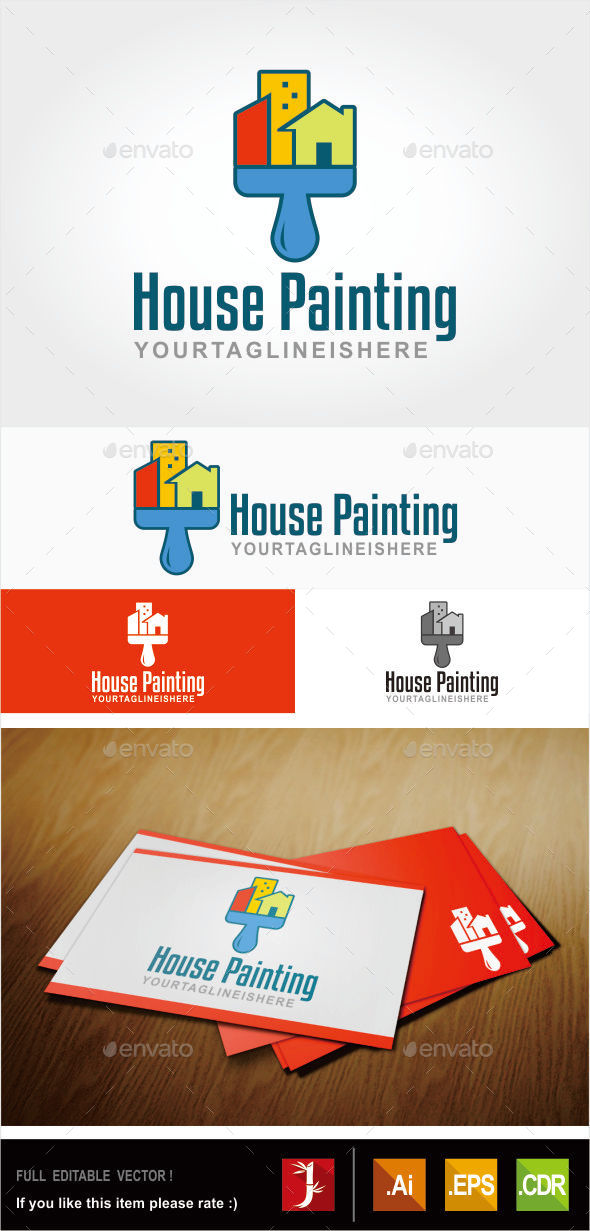 GraphicRiver House Painting 10880092