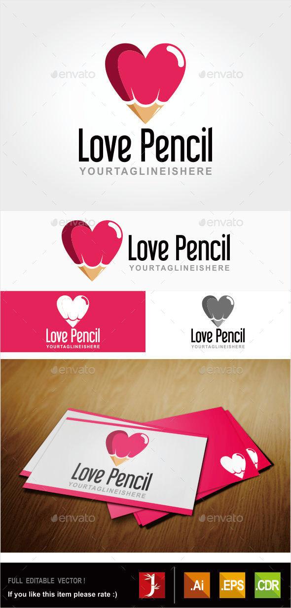 GraphicRiver Love Pencil 10880100