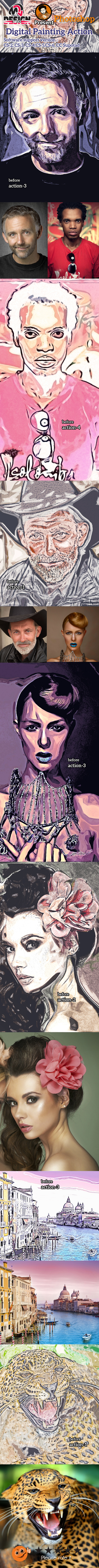 GraphicRiver Digital Painting Action 10880162