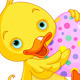 Easter Duckling Carry Egg - GraphicRiver Item for Sale