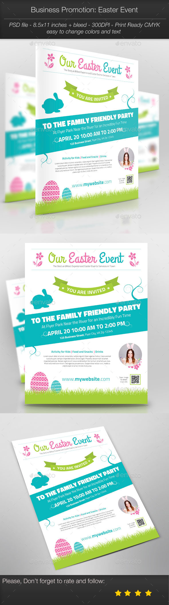 GraphicRiver Business Promotion Easter Event 10880581
