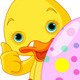 Easter Duckling Gives Thumbs Up - GraphicRiver Item for Sale