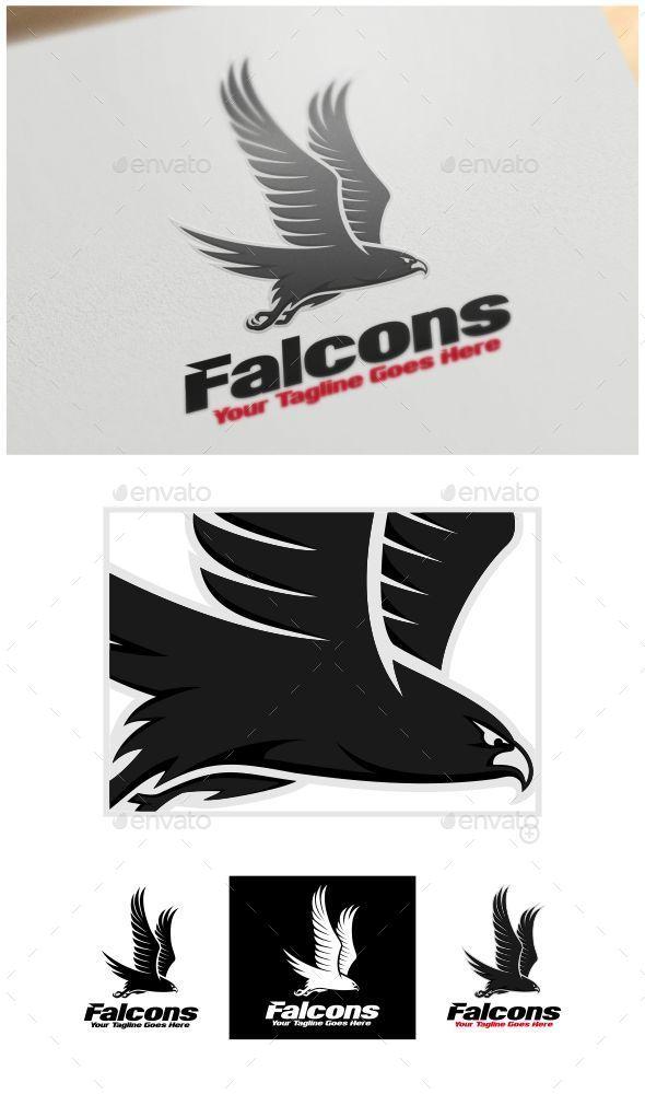GraphicRiver Falcons Logo Template 10880585
