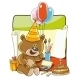 Bear Likes to Draw  - GraphicRiver Item for Sale
