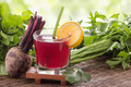 Beet and vegetables mix juice - PhotoDune Item for Sale