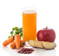 Apple, Carrot and Red beans mix juice - PhotoDune Item for Sale