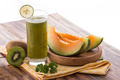 Kiwi and melon smoothies - PhotoDune Item for Sale