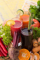 Carrot, Beet and Red Chili pepper mix juice - PhotoDune Item for Sale