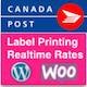 Canada Post WooCommerce Shipping with Print Label - CodeCanyon Item for Sale