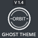 Orbit - Masonry Style Responsive Ghost Theme - ThemeForest Item for Sale