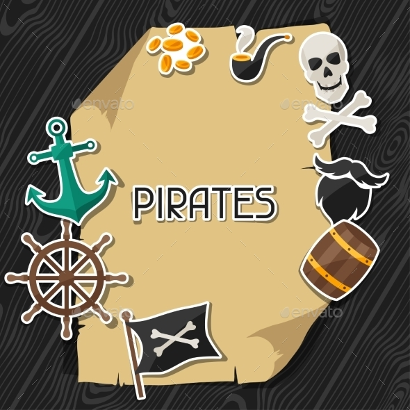 GraphicRiver Pirate Background 10882329