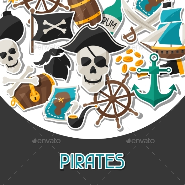 GraphicRiver Pirate Background 10882351