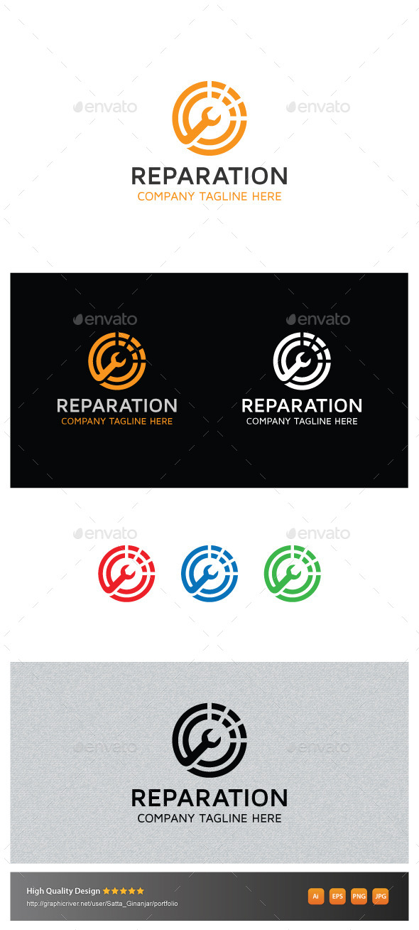 GraphicRiver Reparation 10882357