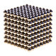 Cube made of  magnetic beads - PhotoDune Item for Sale